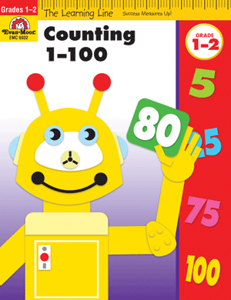 Picture of Learning Line: Counting 1-100, Grades 1-2 - Activity Book