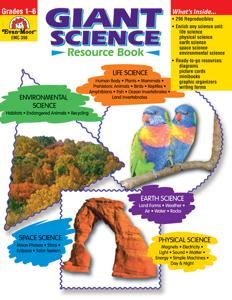 Giant Science Resource Book, Grades 1-6 - Teacher Resource, E-book