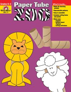 Paper Tube Zoo, Grades K-3 - Teacher Reproducibles, E-book
