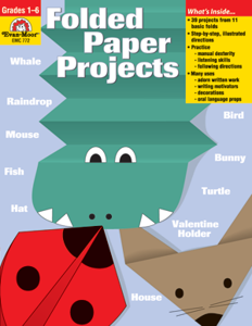 Folded Paper Projects, Grades 1-6 - Teacher Reproducibles, E-book
