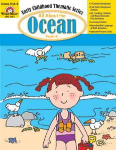 All About the Ocean, Grades PreK -K - Teacher Reproducibles, E-book