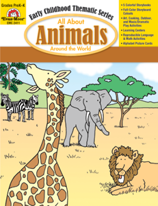 All About Animals Around the World, Grades PreK -K - Teacher Reproducibles, E-book