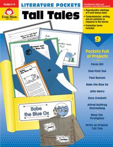 Literature Pockets: Tall Tales, Grades 4-6 - Teacher Reproducibles, E-book