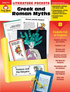 Literature Pockets: Greek & Roman Myths, Grades 4-6 - Teacher Reproducibles, E-book