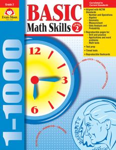 Basic Math Skills, Grade 2 - Teacher Reproducibles, E-book