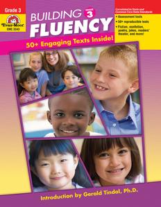 Building Fluency, Grade 3 - Teacher Reproducibles, E-book
