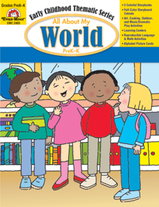 All About My World, Grades PreK -K -Activity Book, E-Book