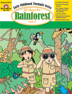 All About the Rainforest, Grades PreK -K -Activity Book, E-Book