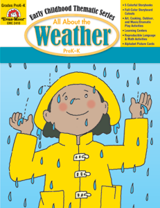 All About the Weather, Grades PreK -K -Activity Book, E-Book