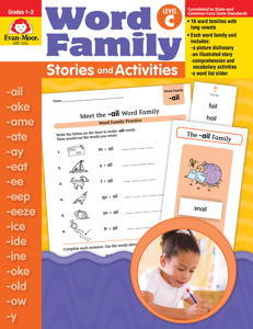 Word Family Stories and Activities, Grades 1-3 (Level C)- Teacher Reproducibles, E-book