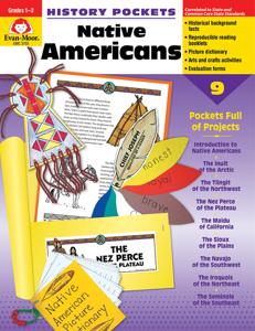 History Pockets: Native Americans, Grades 1-3 - Teacher Reproducibles, E-book