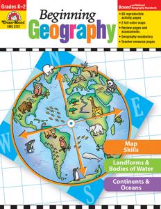 Beginning Geography, Grades K-2 - Teacher Reproducibles, E-book