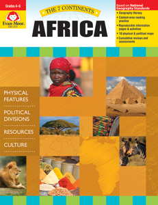 7 Continents: Africa, Grades 4-6 - Teacher Reproducibles, E-book