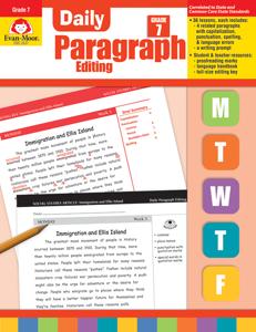 Daily Paragraph Editing, Grade 7 - Teacher's Edition, E-book