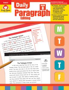 Daily Paragraph Editing, Grade 8 - Teacher's Edition, E-book