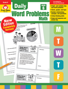 Daily Word Problems, Grade 6 - Teacher's Edition, Print