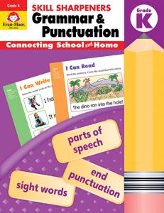 Skill Sharpeners: Grammar & Punctuation, Grade K - Activity Book