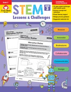 STEM Lessons and Challenges, Grade 3 - Teacher Reproducibles, E-book