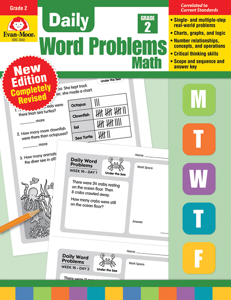 Daily Word Problems, Grade 2 - Teacher's Edition, E-book
