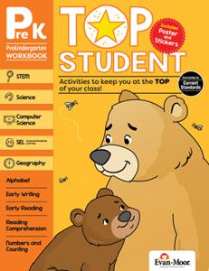 Top Student, Grade PreK - Activity Book