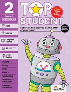 Top Student, Grade 2 - Activity Book