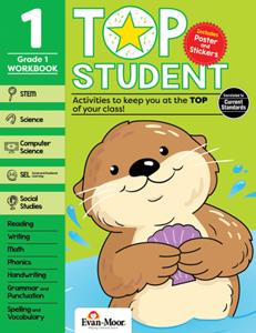 Top Student, Grade 1 - Activity Book