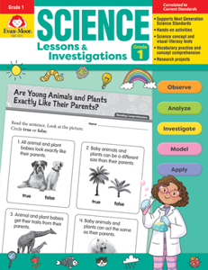 Science Lessons and Investigations, Grade 1 - Teacher's Edition, E-book