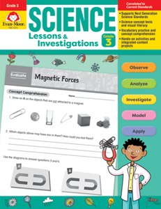 Science Lessons and Investigations, Grade 3 - Teacher's Edition, E-book