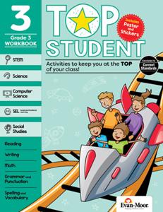 Top Student, Grade 3 - Activity Book