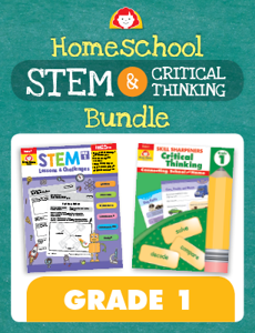 Homeschool STEM and Critical Thinking Bundle, Grade 1