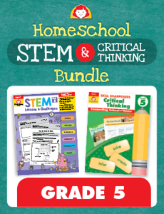 Homeschool STEM and Critical Thinking Bundle, Grade 5