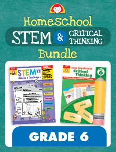 Homeschool STEM and Critical Thinking, Grade 6