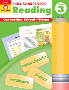 Picture of Skill Sharpeners: Reading, Grade 3 - Activity Book