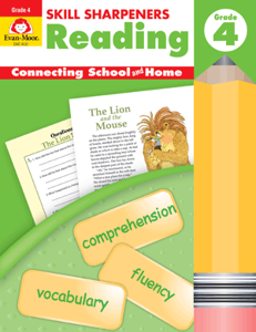 Picture of Skill Sharpeners: Reading, Grade 4 - Activity Book