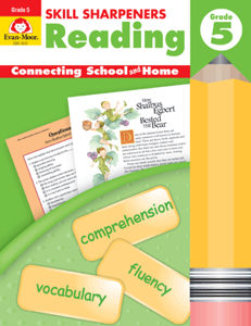 Picture of Skill Sharpeners: Reading, Grade 5 - Activity Book