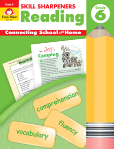 Picture of Skill Sharpeners: Reading, Grade 6 - Activity Book