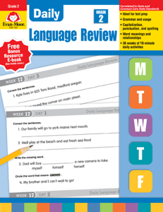 Picture of Daily Language Review, Grade 2 - Teacher's Edition, Print