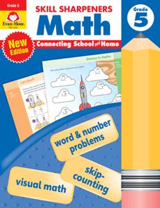 Skill Sharpeners: Math, Grade 5 - Activity Book