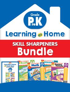 Learning At Home Skill Sharpeners Bundle, Grade PreK
