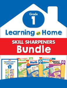 Learning At Home Skill Sharpeners Bundle, Grade 1