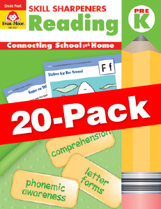 Skill Sharpeners: Reading, Grade PreK — Class pack