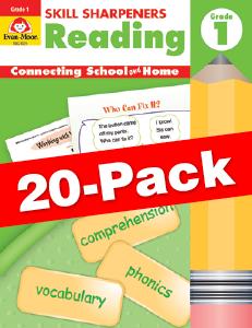 Skill Sharpeners: Reading, Grade 1 — Class pack