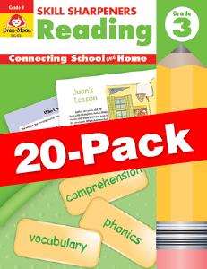 Skill Sharpeners: Reading, Grade 3 — Class pack