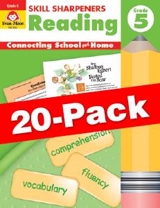 Skill Sharpeners: Reading, Grade 5 — Class pack