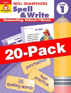 Skill Sharpeners: Spell & Write, Grade 1 — Class pack