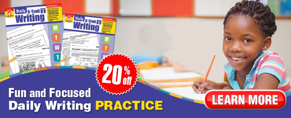 20% off Daily 6-Trait Writing