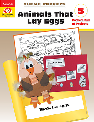 Theme Pockets: Animals that Lay Eggs, Grades 1-3 - E-book