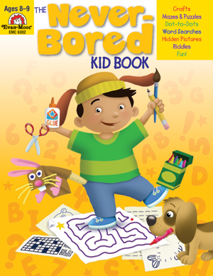 The Never-Bored Kid Book, Grades 3-4 - Activity Book