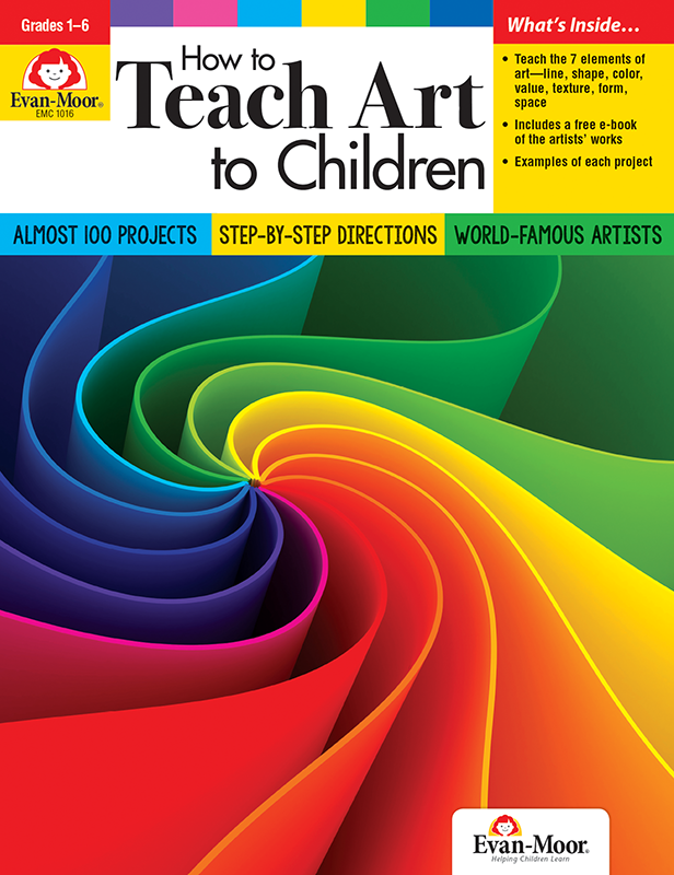 Picture of How to Teach Art to Children, Grades 1-6 - Teacher Resource, E-book