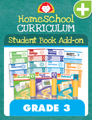 Picture of Homeschool Student Book Add-on Set, Grade 3